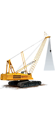 Loadview crawler crane